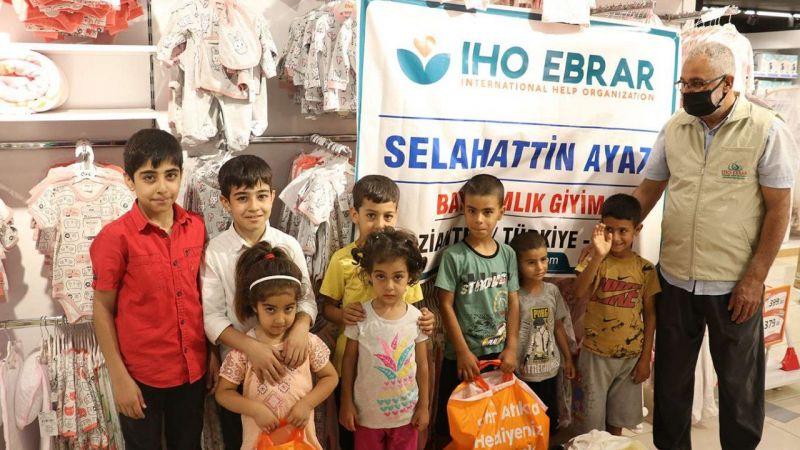 IHO EBRAR Kurban Bayram öncesi çocukların yüzünü güldürdü