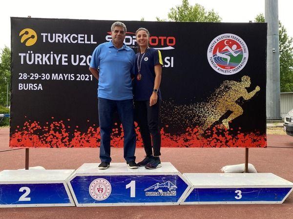 Beyzanur Gaziantep'in gururu oldu