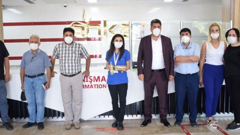 ANKA Hastanesi'nde bayramlaşma
