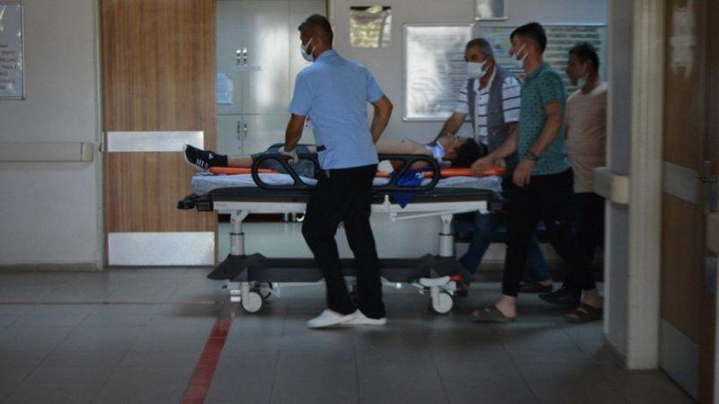 Gaziantep'te otomobil ile motosiklet çarpıştı: 2 yaralı