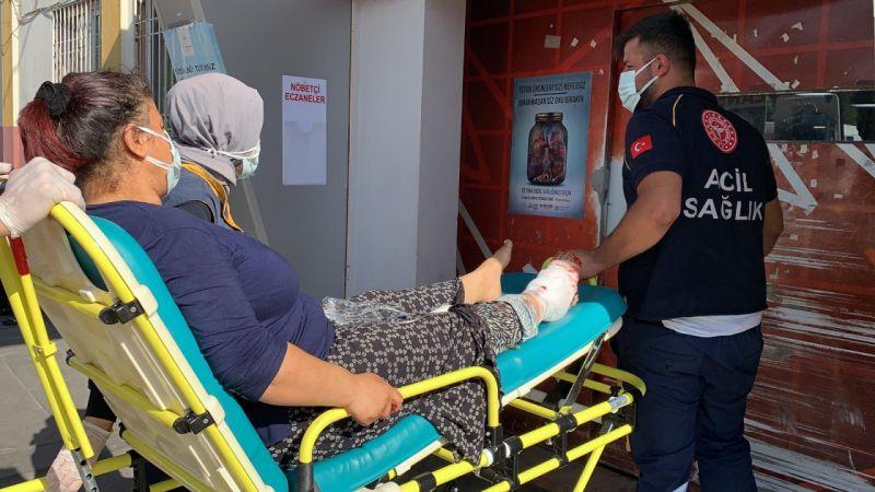 Gaziantep'te acemi kasaplar hastanelere akın etti