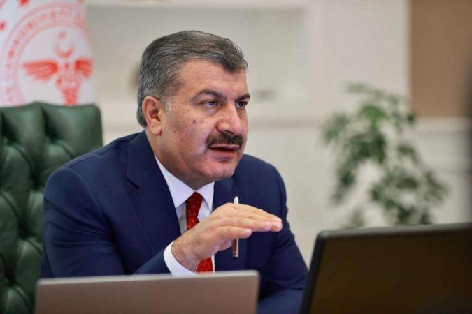 Sağlık Bakanı Fahrettin Koca aşı çağrısında bulundu