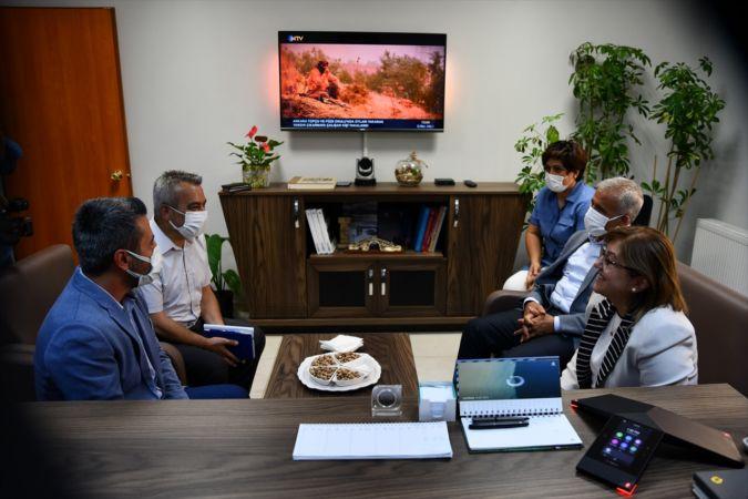 TBB Başkanı Şahin, AA Gaziantep Bölge Müdürü Kocalar'ı ziyaret etti
