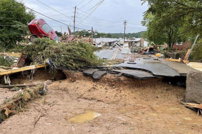 Sel ABD eyaletini vurdu: 10 ölü onlarca kayıp