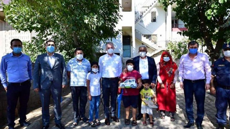 Gaziantep Valisi Gül'den Nurdağı ilçesine ziyaret