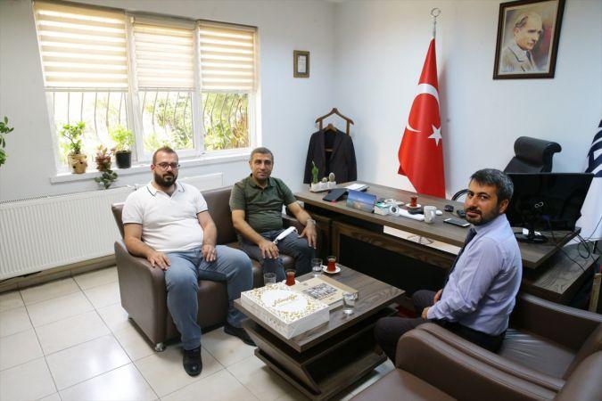 MHP Gaziantep Milletvekili Taşdoğan, AA Gaziantep Bölge Müdürü Kocalar'ı ziyaret etti