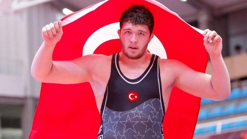 Muhammed Hamza Bakır altın madalya kazandı