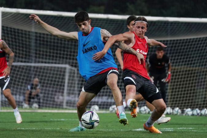 Gaziantep FK, Yeni Malatyaspor maçı hazırlıklarına başladı