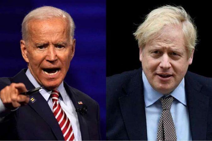 ABD Başkanı Biden İngiltere Başbakanı Johnson ile Afganistan'ı görüştü