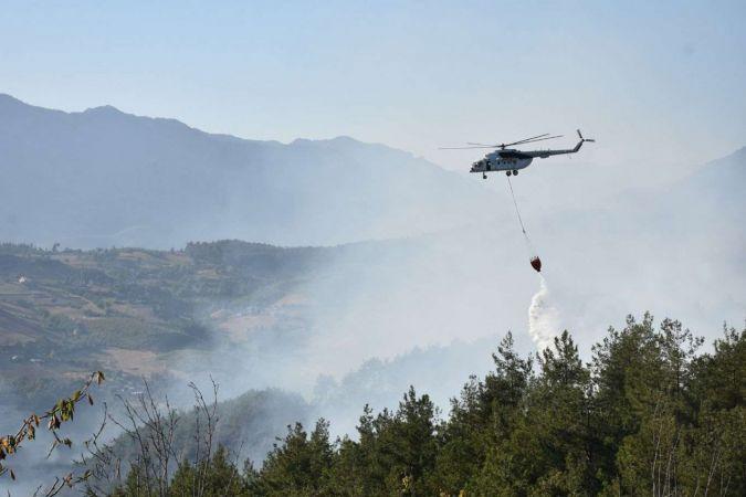Adana'da ki yangın kontrol altına alındı