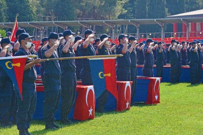 Jandarma'da görev değişimleri
