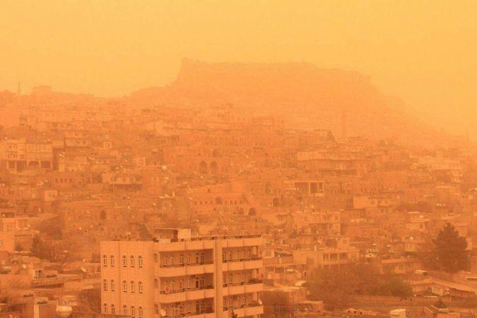 Dikkat ! Doğu ve Güneydoğu Anadolu bölgesinde toz taşınımı etkili olacak