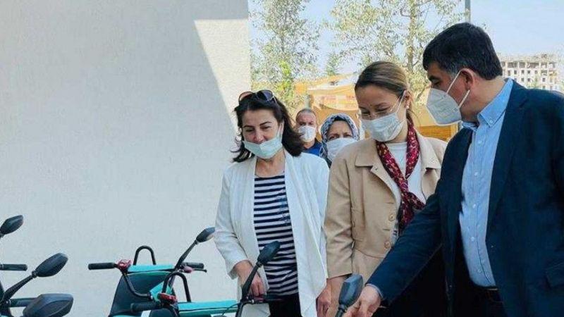 AK Parti Gaziantep Milletvekili Bakbak, inşaatı süren tesisleri inceledi