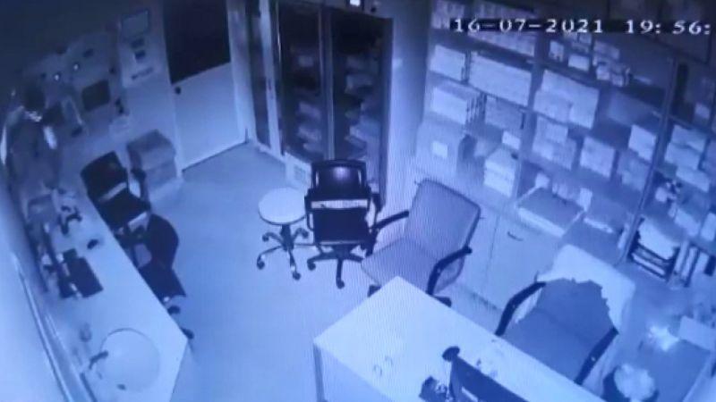 Hastaneden kanser ilacı çalan hırsız yakalandı