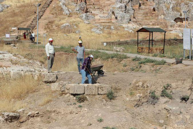 Perre Antik Kent'te kazı alanı genişletildi