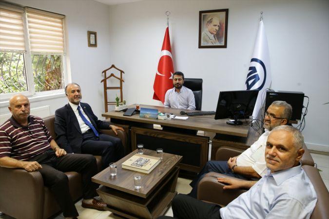 Saadet Partisi Genel Başkan Yardımcısı Güneş'ten AA'ya ziyaret