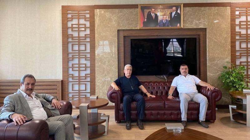 NTO Başkanı Özyurt'tan Şanlıurfa Ticaret Borsası'na Ziyaret