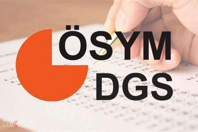 DGS tercih işlemleri başladı