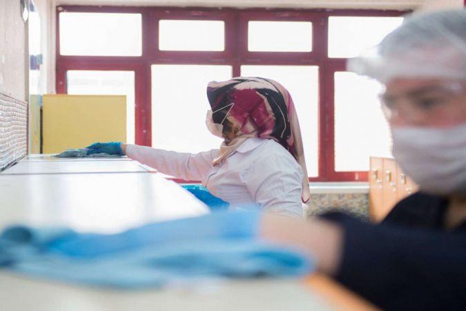 Okul pansiyonlarında salgın hastalıklarla mücadele eğitimi