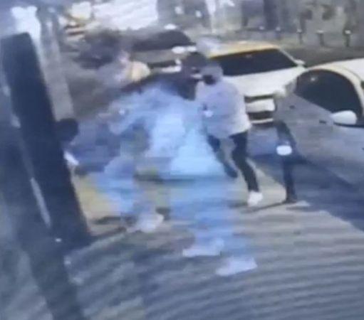 Otel önünde yan bakma cinayeti