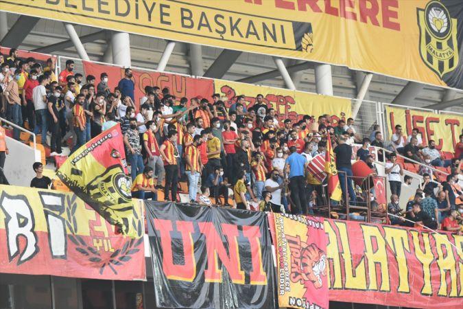 Malatyaspor: 1 Gaziantep FK: 0 (İlk yarı)