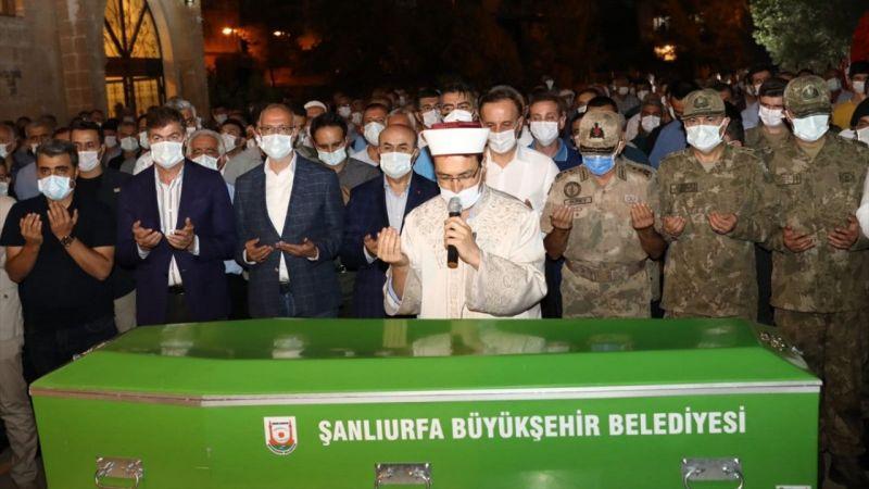 Şanlıurfa Valisi Abdullah Erin'in vefat eden babasının cenazesi Mardin'de toprağa verildi