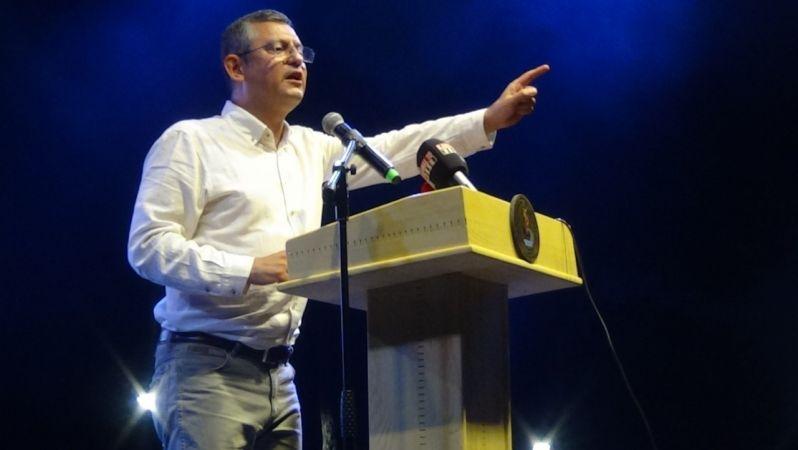 Sanat Festivali'nde CHP'li Özgür Özel'den aşı çağrısı
