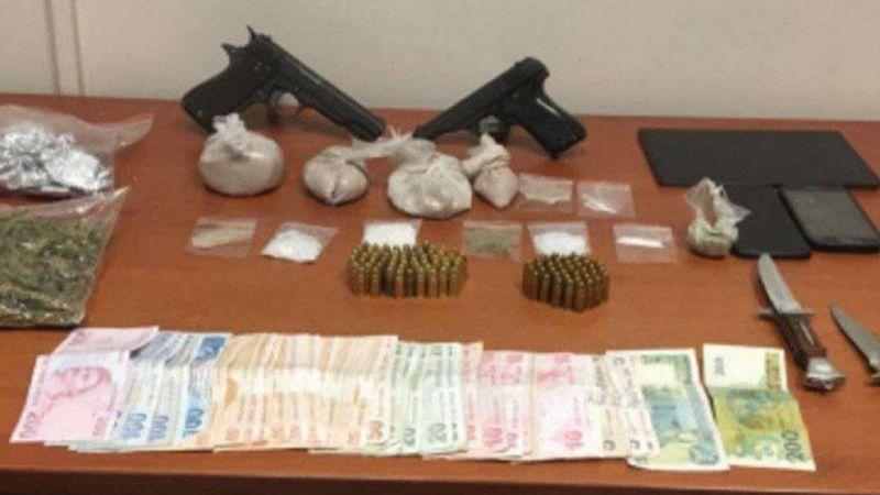 Gaziantep'te uyuşturucu operasyonunda 3 şüpheli gözaltına alındı