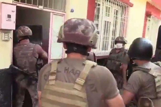 Gaziantep'te uyuşturucu operasyonunda 16 zanlı tutuklandı