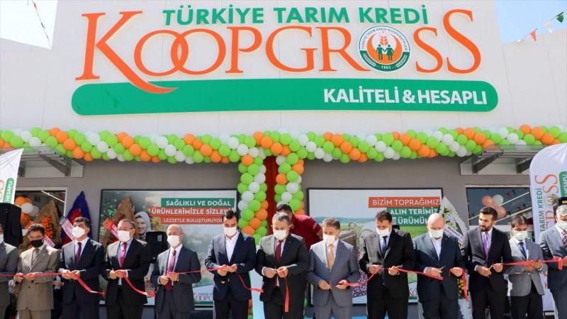 Tarım Kredi ürünlerinin toptan ve perakende satışının yapılacağı KoopGrooss Mağazası'nın ilki Gaziantep'e açıldı