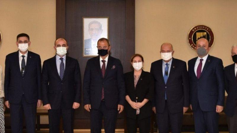 Gaziantep İl Emniyet Müdürü Mustafa Emre Başbuğ'dan GSO'ya ziyaret