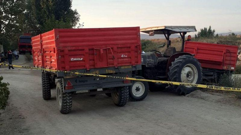 Traktör başka bir traktörün römorkuna çarptı: 1 ölü