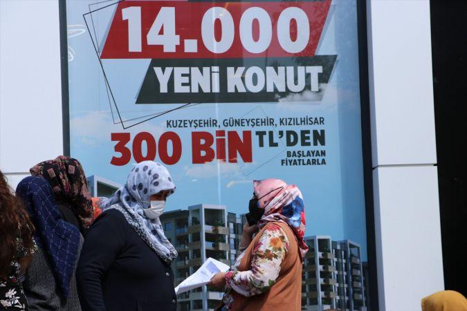 """Gaziantep'te """"14 Bin Konut Projesi""""nde ön talep başvuruları başladı"""