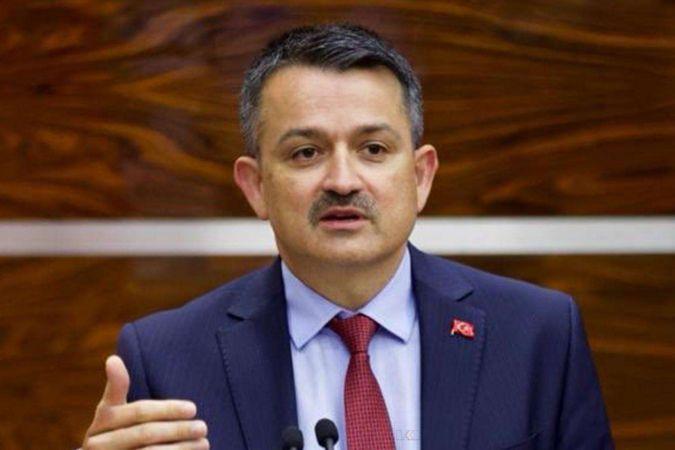 Bakan Pakdemirli'den 22 milyon liralık destek açıklaması