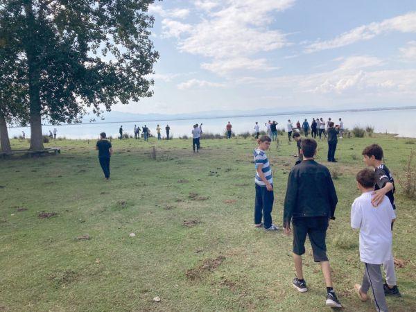 Gaziantepli öğrenciler 'Kuş Cenneti'ne hayran kaldı