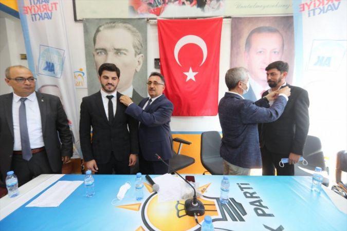 Gaziantep'te AK Parti'ye 250 kişi katılım sağladı