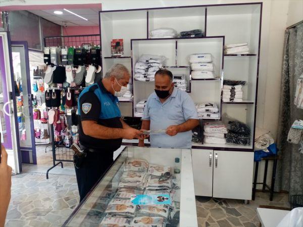 Nizip'te polis ekipleri esnafı bilgilendirdi