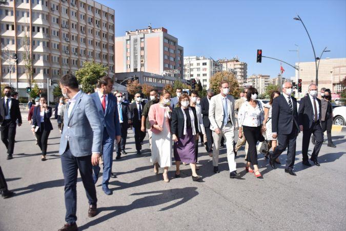 """Gaziantep'te """"Avrupa Hareketlilik Haftası"""" kutlanıyor"""