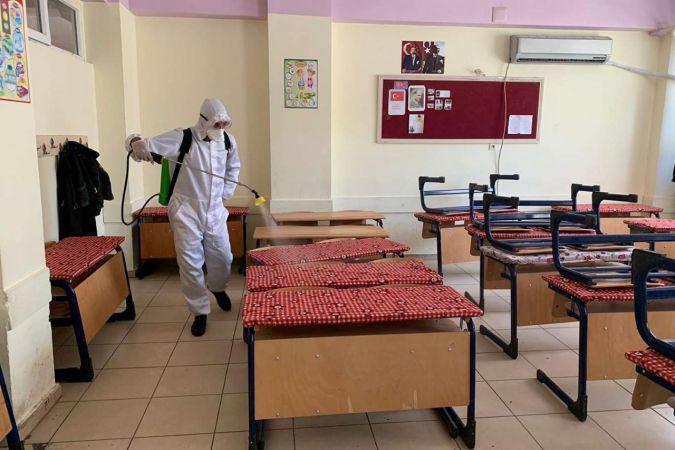 Gaziantep'te 30 sınıf karantinaya alındı