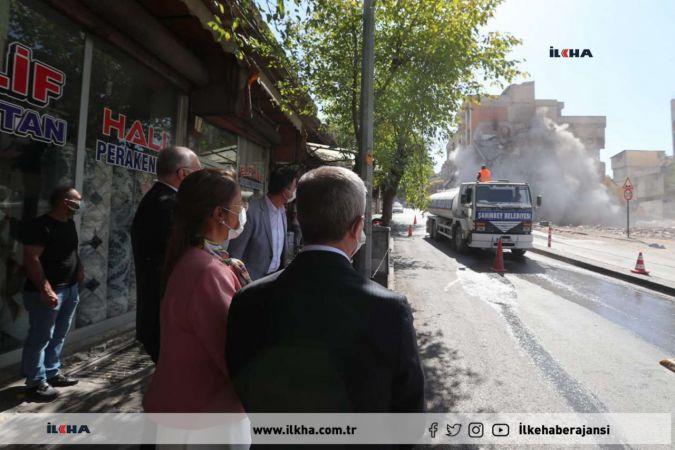 Gaziantep'te kentsel dönüşüm çalışmaları devam ediyor