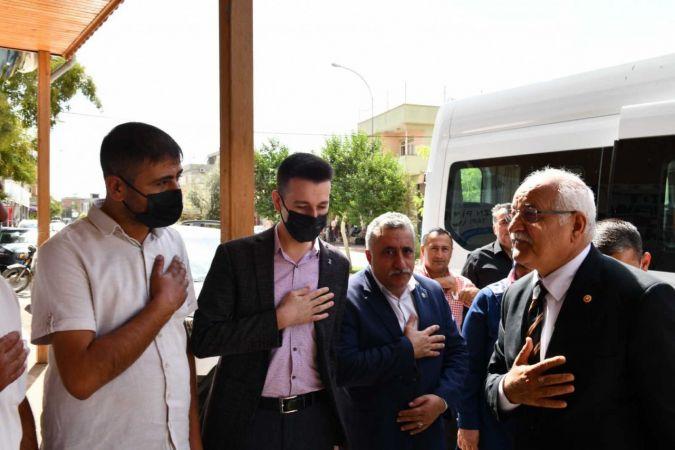 Milletvekili Erdoğan'dan Oğuzeli'ne ziyaret