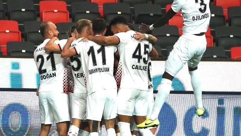 Gaziantep F.K'dan tarihi galibiyet 1 – 0