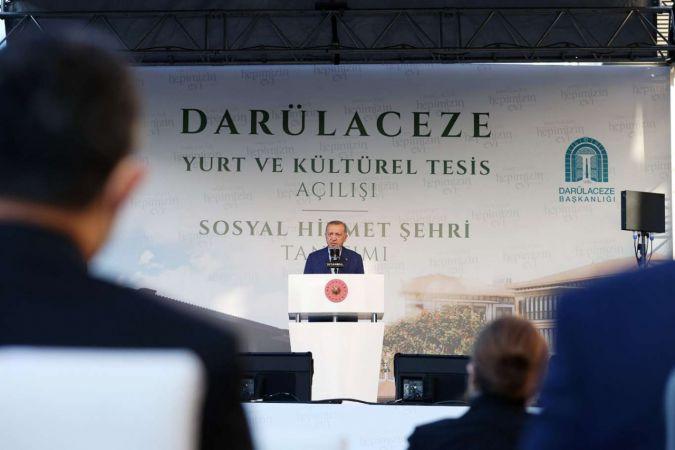 """Cumhurbaşkanı Erdoğan: """"Öğrenciler üzerinden çirkin bir kampanya yürütülüyor"""""""