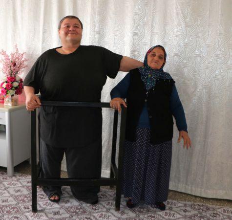 7 ayda 52 kilo veren Aydın'ın tek hayali evlenmek
