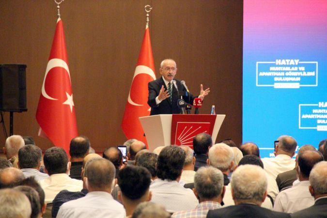 Kılıçdaroğlu: Kusurumuz da var, kabahatimiz de var, önemli olan kusurdan ders çıkarmaktır