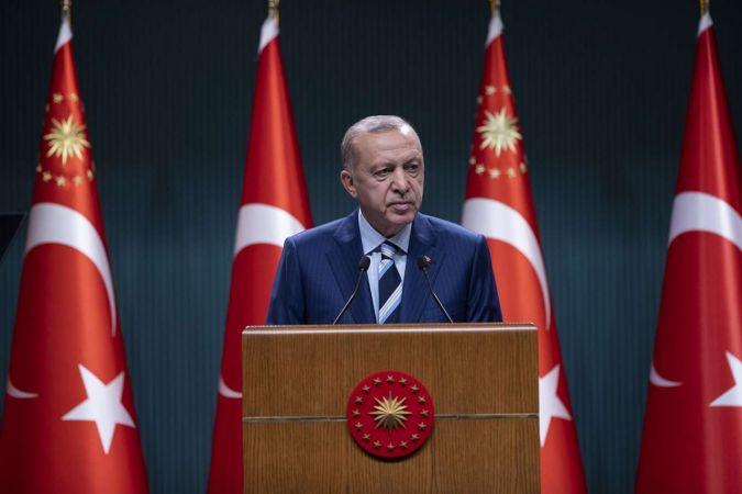 Erdoğan'dan kamu yükseköğrenim öğrenci yurdu açıklaması