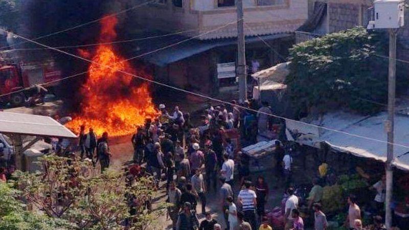 Cerablus'ta bombalı terör saldırıları: 14 yaralı