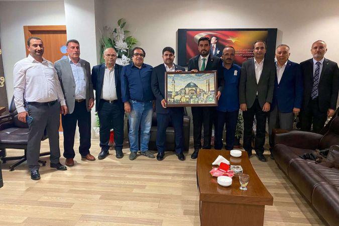HÜDA PAR Gaziantep İl Başkanlığı GGC'yi ziyaret etti