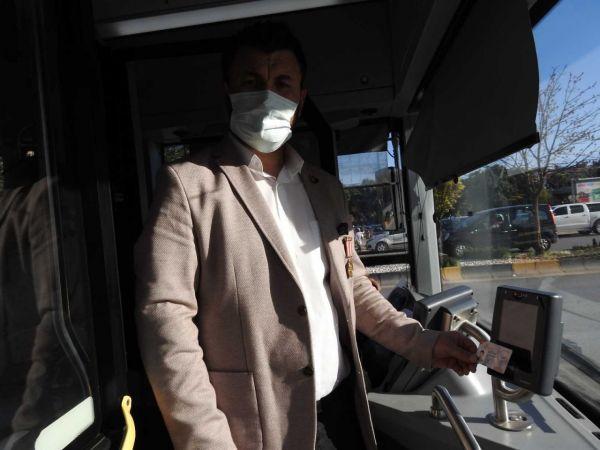 Toplu taşıma araçlarında duygulandıran anons