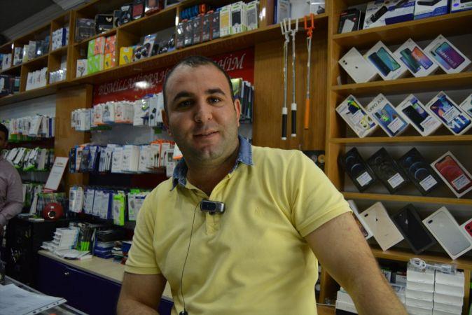 Gaziantep'te cep telefonu hırsızlığı güvenlik kamerasında
